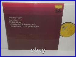 2720 025 Avant Garde Ligeti Kagel Stockhausen Foss Ferrari Kayn Nono 6 LP BoxSet