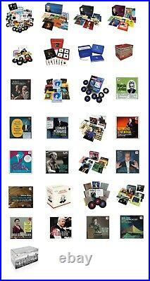 29 box sets from Sony-RCA's complete album collection series SEALED + Bonus