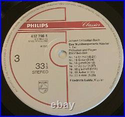 412 794-1 BACH WELL TEMPERED CLAVIER Philips 1st Dutch 5lp NM GULDA