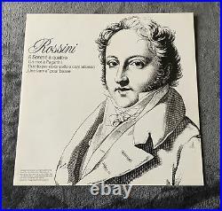6769 024 ROSSINI 6 SONATE A QUATTRO NM Philips 1st Dutch 2lp ACCARDO