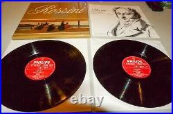 ACCARDO Rossini PHILIPS 6 Sonate a Quattro 6769 024 2LP NM- Box set RARE