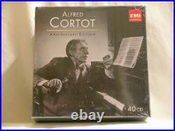 ALFRED CORTOT Anniversary Edition EMI SEALED 40 CD Box Set