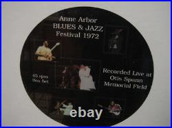 ANNE ARBOR BLUES JAZZ CLASSIC RECORDS Sealed 45 Speed RARE 8 LP BOX Set Only 500