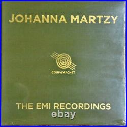 AUDIOPHILE COUP D'ARCHET Johanna MARTZY Emi Recordings #10 LP BOX SET Lted SS