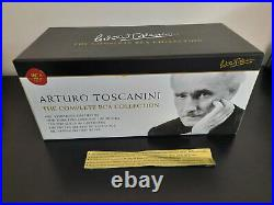 Arturo Toscanini The Complete RCA Collection 84 CD box set by Sony, rare