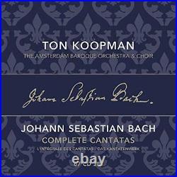 BACH COMPLETE BACH CANTATAS KOOPMAN TON and AMSTERDAM BAROQ CD