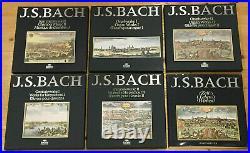 BACH EDITION ACHIV PRODUKTION 11 LP Boxes FOURNIER SZERYNG RICHTER MINT