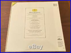 BERNSTEIN MAHLER Symphony No 6 two LP box set 1989 Deutsche Grammophon