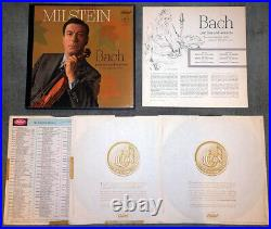 Bach Sonatas & Partitas for Unnacompanied Violin Milstein Capitol ED1 3LP Box NM