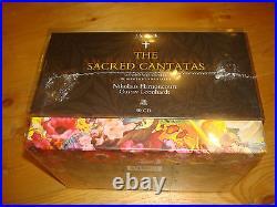 Bach The Sacred Cantatas HARNONCOURT LEONHARDT TELDEC 60 CD BOX NEW SEALED