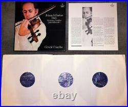 Bach Violin Sonatas & Partitas Goncal Comellas Columbia SCE 986/8 stereo NM