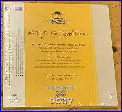 Beethoven 5 Cello Sonatas MAINARDI ZECCHI DGG ANALOGPHONIC 3x 180g LP BOX SEALED
