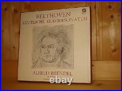 Beethoven Complete Piano Sonatas ALFRED BRENDEL VOX 11 LP BOX VXDS 102 STEREO NM