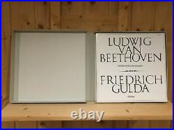 Beethoven Complete Piano Sonatas GULDA ORIG AMADEO 11 LP BOX 906434/444 ASY MINT
