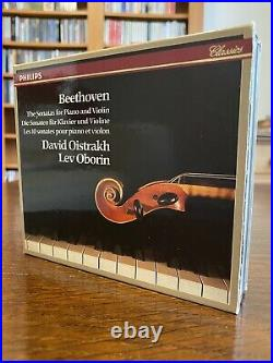 Beethoven Complete Violin & Piano Sonatas Oistrakh Oborin OOP EXTREMELY RARE
