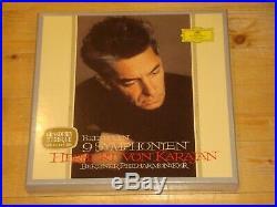 Beethoven Nine Symphonies KARAJAN DGG 8x 180g LP BOX Ltd. No. 111/600 NEW SEALED