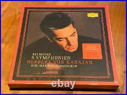 Beethoven Nine Symphonies KARAJAN DGG 8x 180g LP BOX NEW SEALED