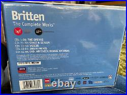 Benjamin Britten The Complete Works Limited Edition Box Set (66 Discs) DECCA
