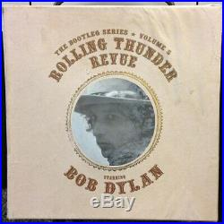 Bob Dylan Bootleg Series 5 Rolling Thunder Revue Classic Records LP Boxset