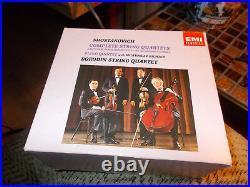Borodin String Quartet 6 Disc CD Box Set Shostakovich Complete String Quartets