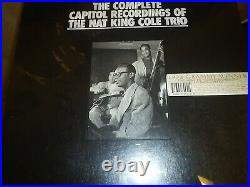 Brand New The Complete Capitol Recordings Of The Nat King Cole Trio CD Box Set