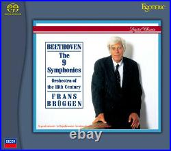 Bruggen conducts Beethoven 9 Symphonies, 5DISCs ESOTERIC SACD New, Sealed JAPAN