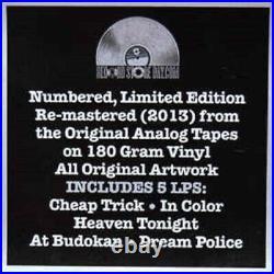 CHEAP TRICK Classic Albums 77-79 Vinyl Album RECORD STORE DAY RSD BOX SET #d LP