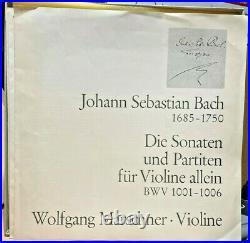 CHRISTOPHORUS 3-LP Box SCK-70-335 Wolfgang MARSCHNER plays J. S. BACH 1972 DEU