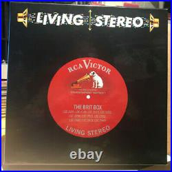 CLASSIC RECORDS 10xLPs Box RCA LIVING STEREO BRIT-BOX EDITION No. 0016, SEALED