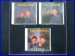 Classic Everly Brothers Boxed Set. 3 CD Plus Book. 1992 Bear Family Release