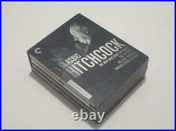 Classic Hitchcock The Criterion Collection 4-Disc Blu-Ray Set RARE OOP Pre-owned