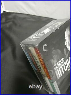 Classic Hitchcock The Criterion Collection Blu-ray 4 movies Rare OOP NEW