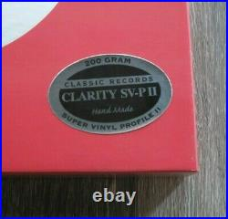 Classic Records SR 52104 Sarah Vaughan Lonely Hours 4LP CLARITY BOX SET NEW