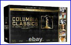 Columbia Classics 4K-UHD Collection Blu-Ray No Digital Code Region A US/CA