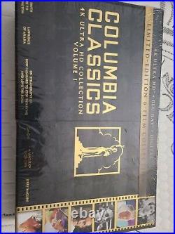 Columbia Classics 4K Ultra HD (Blu-ray, Limited Edition) Sealed