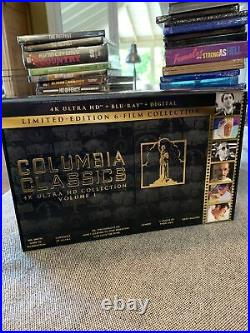 Columbia Classics 4K Ultra HD Collection (Blu-ray, 2020, Limited Edition) Used