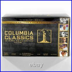 Columbia Classics 6-Film Collection 4K UHD+Blu-ray+Digital ULTRA RARE A++ MINT