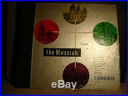 Columbia MM-666 Malcolm Sargent Liverpool Philharmonic Handel The Messiah 1947