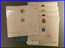 Coup D'archet L'archet D'or Complete Three Sets All Matching Low Numbers Mint