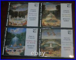 Couperin Livres de clavecin 1-4 by Kenneth Gilbert (CD, Harmonia Mundi)