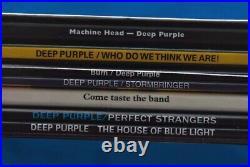 DEEP PURPLE THE VINYL COLLECTION 7 x LP 180g REMASTEREDBOX SET MINT / SEALED