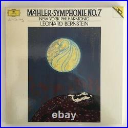 DGG DIGITAL Bernstein Mahler Symphony No 7 Box 2LP M-