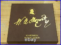 DGG PHILIPS MOZART EDITION 89 LPs in 12 Boxes HAEBLER SZERYNG HASKIL GRUMIAUX NM