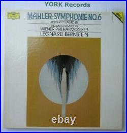 DG 427 697-1 MAHLER Symphony No 6 BERNSTEIN VPO Ex Con 2 LP Record Box Set