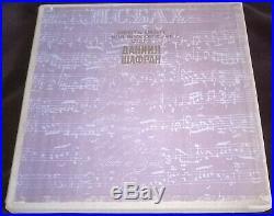 Daniel Shafran Bach Six Suites For Solo Cello 3lp Melodiya Vsg Box Stereo Ed1