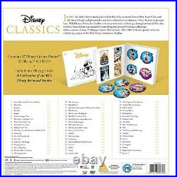 Disney Classics Complete 57 Blu Ray Movie Collection Brand New & Sealed