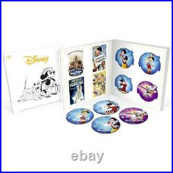 Disney Classics Complete 57 Movie Collection Blu-ray with DVD + Booklet