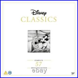 Disney Classics Complete 57 Movie Collection- DVD- NEW- 871741857619