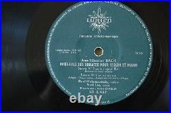 Duo Lee Makanowitzky Bach Sonatas Violin Piano 2 Lp Set Ed1 Lumen 3-437 3-438