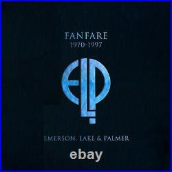 EMERSON LAKE & PALMER Fanfare DELUXE BOX 18CD 3LP 2 7 + Goodies MINUS BLU-RAY